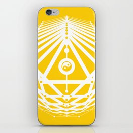 Radiant Abundance (yellow-white) iPhone Skin