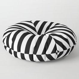 Chevronish Floor Pillow