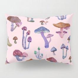 Mushrooms Pink!! Pillow Sham