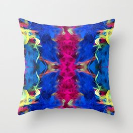 Magnificent Feathers Throw Pillow