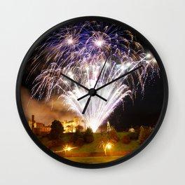 Castle Illuminations Inverness Scotland Wall Clock