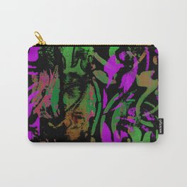 Magenta Chartreuse Carry-All Pouch