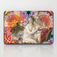 netflix iPad Cases featuring netflix and chill by STORMYMADE