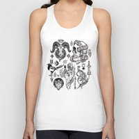 alchemy Tank Tops featuring Lesser Alchemy by Polkip