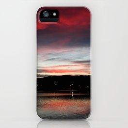 Floripa Red Sunset iPhone Case