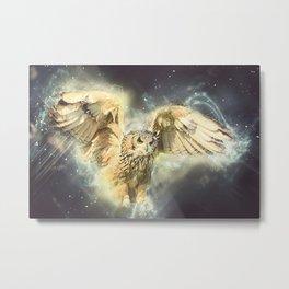 Animals Bird Owl Metal Print