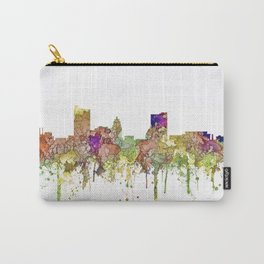 Fort Wayne, Indiana Skyline Carry-All Pouch