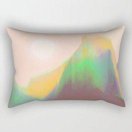 Mountain Heat Rectangular Pillow