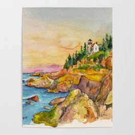 Acadia National Park Poster
