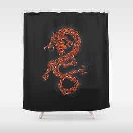 Koi's Enigma Shower Curtain