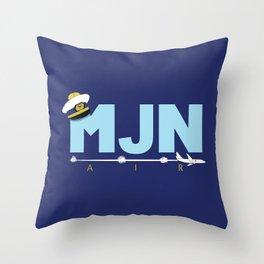 MJN Air Throw Pillow