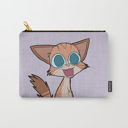 Cute Red Tabby Cat Carry-All Pouch