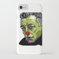 camus iPhone & iPod Cases featuring A. Camus by philip painter