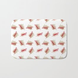 Retro Xmas Bath Mat