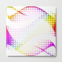 abstract colorful tamplate Metal Print