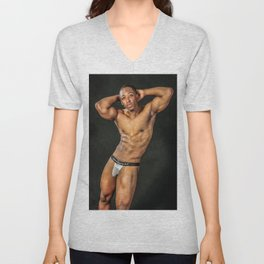 Muscles and Mesh Unisex V-Neck