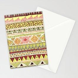 Pizza Pattern Stationery Cards