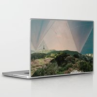 camping Laptop & iPad Skins featuring Sky Camping by Ffion Atkinson