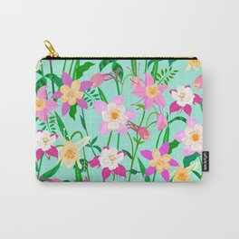 Wild Columbine Flower Carry-All Pouch