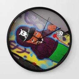 """90's Baby"" 16x20 Acrylic Canvas Street Wall Art Wall Clock"