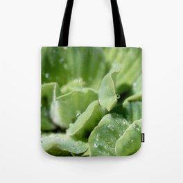 Waterlogged Leaves Tote Bag