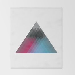 The Heart of the Mountain Throw Blanket