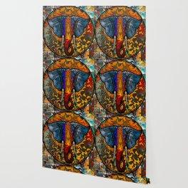 Elephant Circle of Life Wallpaper