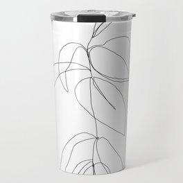 Still life plant drawing - Caca Travel Mug
