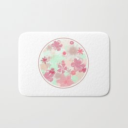 The Earth Laughs In Flowers. Bath Mat