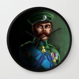 Lieutenant Luigi Wall Clock