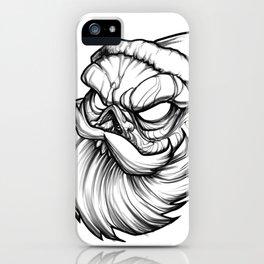 Santa Skully iPhone Case