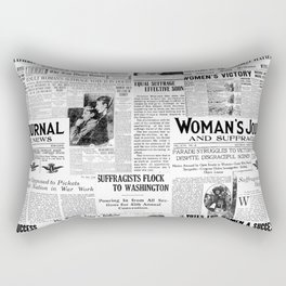 MAKING AMERICA GREAT - WOMEN'S SUFFRAGE Rectangular Pillow