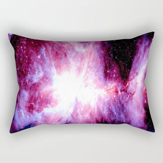 Orion nebula Fuchsia Purple  Rectangular Pillow