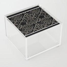 Art Deco Black Acrylic Box