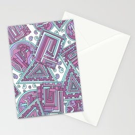 Wandering 15: color variation 3 Stationery Cards