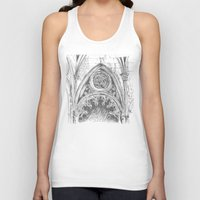 gothic Tank Tops featuring gothic by Tereza Del Pilar