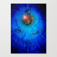 freedom Canvas Prints featuring Freedom by Walter Zettl