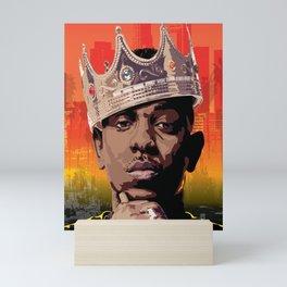 King Kendrick Mini Art Print