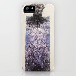 Twig Man, Digital Print by Jain McKay iPhone Case