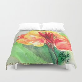 A Canna Can Survive Duvet Cover