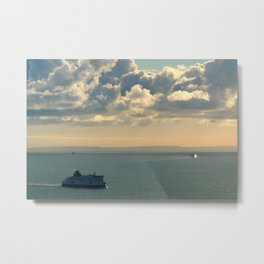 To and From France Metal Print