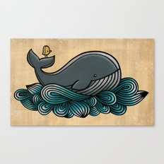 Tale of a Whale Canvas Print