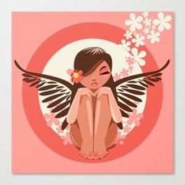 Flora Fairy Canvas Print