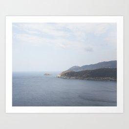 Cap Corse Art Print