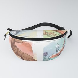 Element Origami Fanny Pack