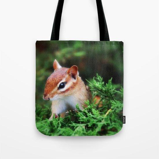 Chipmunk Tote Bag