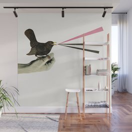 Bird in the Hand Wall Mural