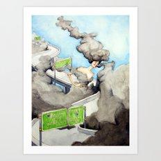The Alluring Annoyance of...Overcast Art Print