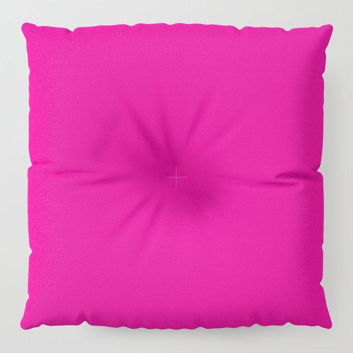 Fuschia Pink Floor Pillow