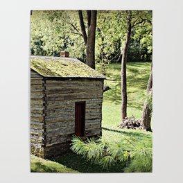 Rustic Log Cabin Poster